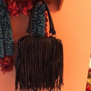 unknown Bags - Big fringe hobo bag